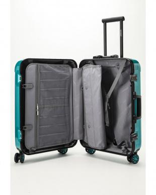 ターコイズグリーン  Frame型スーツケース 約54L見る