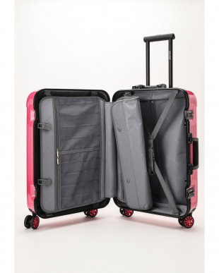 ストロベリーピンク  Frame型スーツケース 約54L見る