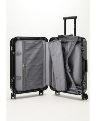 ダークブルー  Frame型スーツケース 約54L見る