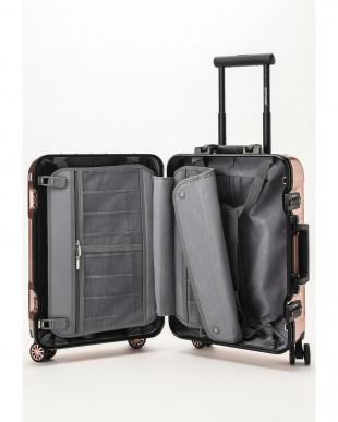 ピンクローズ  Frame型スーツケース 約34L見る