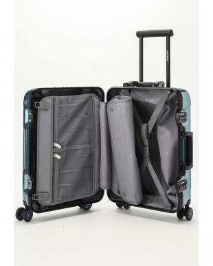 メタリックブルー  Frame型スーツケース 約34L見る