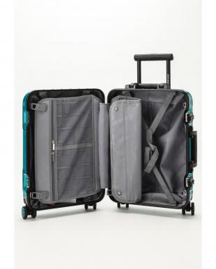 ターコイズグリーン  Frame型スーツケース 約34L見る