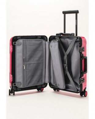 ストロベリーピンク  Frame型スーツケース 約34L見る