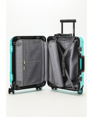 ミントブルー  Frame型スーツケース 約34L見る