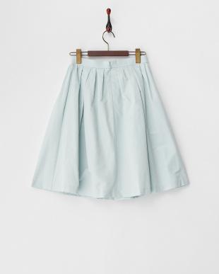 MELON GREEN  ギャザーフレアースカート見る