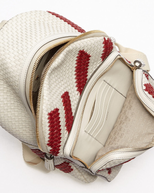 Chalk×Vampire Backpack Mini Stripes見る