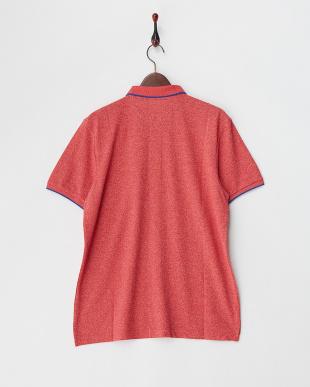 レッド チビライオン刺繍ポロシャツ│MEN見る