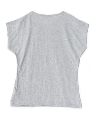 ヘッドホン  フレンチスリーブTシャツ見る