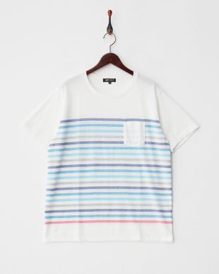 WHITE  T16.MULTIBDR CRW Tシャツ見る