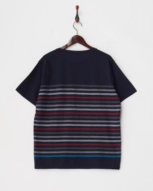 NAVY  T16.MULTIBDR CRW Tシャツ見る