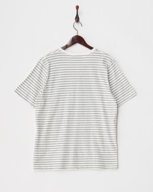 LT.GLAY  T17.SIMPLE BDR VネックTシャツ見る