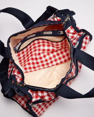 GINGHAM CLASSIC RED  Medium Weekenderボストンバッグ見る