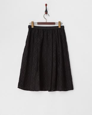 ブラック  オパール加工スカート見る