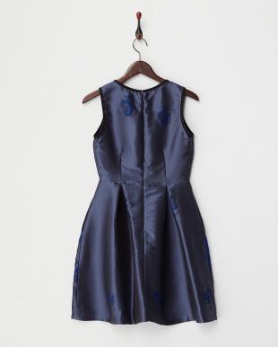 cornflower blue pattern  INGEGNO kiku ドレス(JAPAN 限定ドレス)見る