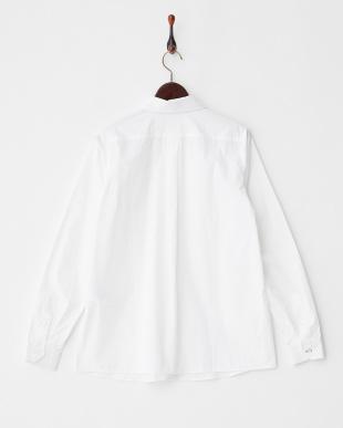 WHITE BAGATTO 比翼コットンシャツ見る