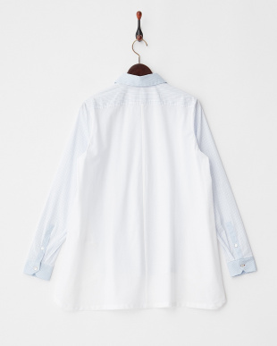 WHITE BAGHDAD 切り替えコットンシャツ見る