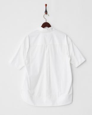 WHITE コットン スキッパーシャツBASTIONE見る
