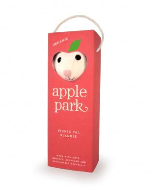 ひつじ apple park ミニブランケット見る