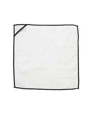 ホワイト ロゴ入り布巾 3枚セット見る