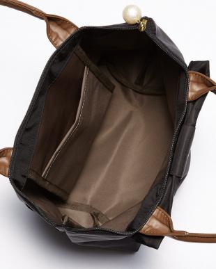 ブラック クラシックリボンミニトートバッグ見る