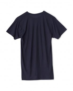 NV  吸水速乾 UVカット 太陽熱をシャットアウト クルーネックTシャツ見る