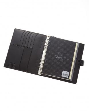 ブラック  ナッパ システム手帳 A5サイズ見る