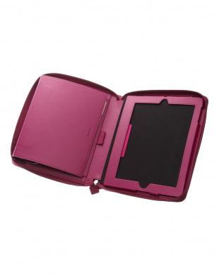 ラズベリー  ペニーブリッジ システム手帳+iPadケース A5/iPad2-4見る