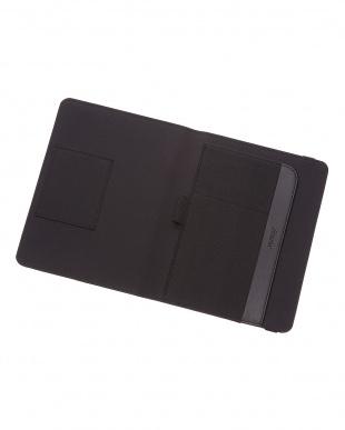 ブラック  メトロポールエラスティック タブレットケース スモールサイズ見る
