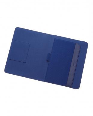 ネイビー  メトロポールエラスティック タブレットケース スモールサイズ見る