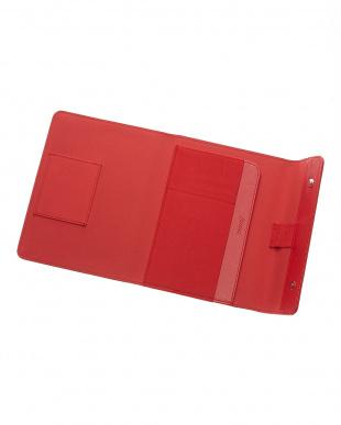 レッド  サフィアーノラップ タブレットケース スモールサイズ見る