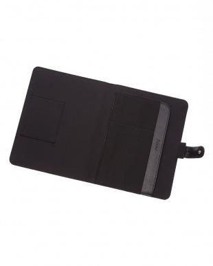ブラック  ペニーブリッジストラップ タブレットケース スモールサイズ見る