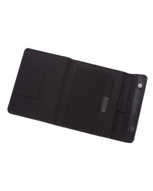 ブラック  マイクロファイバーラップ タブレットケース スモールサイズ見る