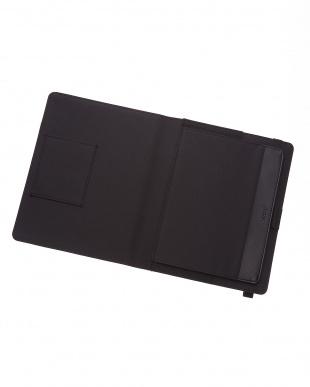 ブラック  メトロポールエラスティック タブレットケース ラージサイズ見る