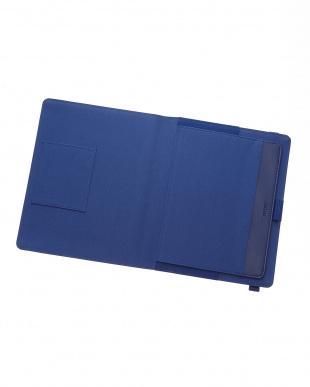 ネイビー  メトロポールエラスティック タブレットケース ラージサイズ見る