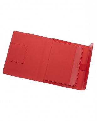レッド  サフィアーノラップ タブレットケース ラージサイズ見る