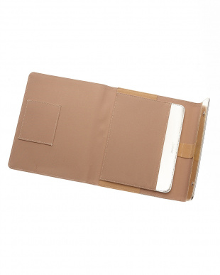 ゴールド  サフィアーノラップ タブレットケース ラージサイズ見る