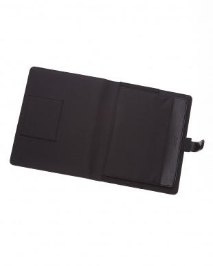 ブラック  ペニーブリッジストラップ タブレットケース ラージサイズ見る