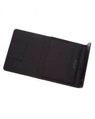 ブラック  マイクロファイバーラップ タブレットケース ラージサイズ見る