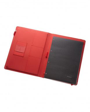 レッド  メトロポールエラスティック フォリオ タブレットケース Xラージサイズ見る