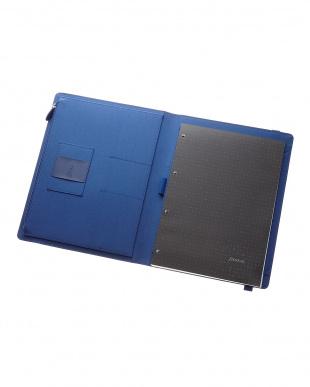 ネイビー  メトロポールエラスティック フォリオ タブレットケース Xラージサイズ見る