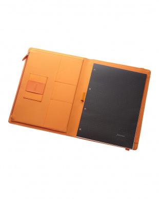 オレンジ  メトロポールエラスティック フォリオ タブレットケース Xラージサイズ見る