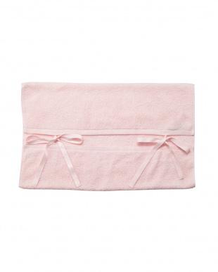 ピンク  天使のタオル スーピマコットン ピローカバー見る