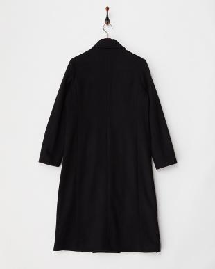 ブラック  ロング丈コート見る