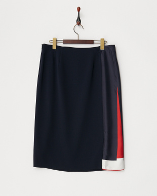 MIDNIGHT NAVY CANDELA Skirt見る
