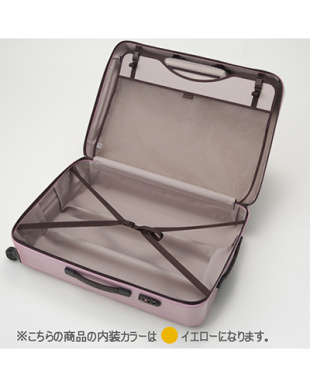 サンドベージュ  ラグーナライトF スーツケース47L見る