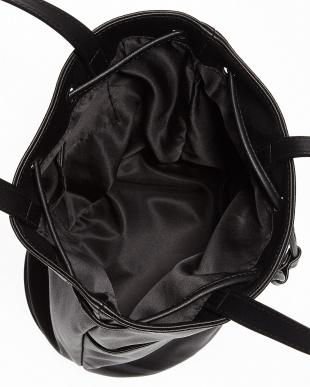 BLACK ドロストポケットトートバッグ見る