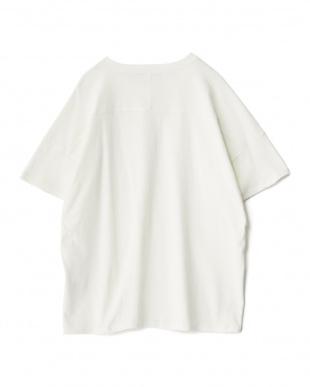 OFF WHITE  クルーネック半袖ルーズTシャツ見る