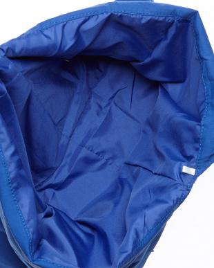 BLUE  カラフルリボントートバッグ見る