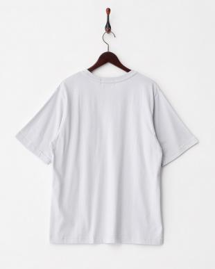 GRAY  BオーガニックコットンポケTシャツ(半袖)見る