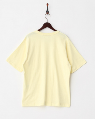 YELLOW  BオーガニックコットンポケTシャツ(半袖)見る